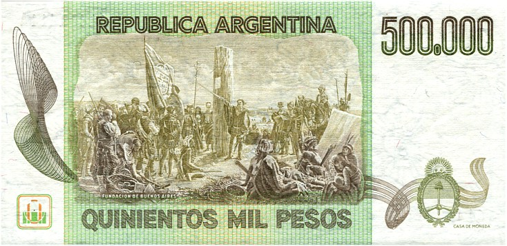 argentina paper The peso (established as the peso convertible) is the currency of argentina in 1826, two paper money issues began, denominated in pesos one, the peso fuerte.